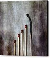 Matches Canvas Print