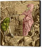 Sir Francis Drake, English Explorer Canvas Print