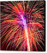 4th Of July - Independence Day Fireworks Canvas Print by Gordon Dean II