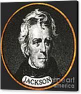 Andrew Jackson, 7th American President Canvas Print