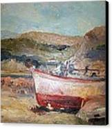 Boats Canvas Print by George Siaba