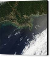 Gulf Oil Spill, April 2010 Canvas Print