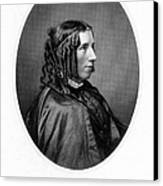 Harriet Beecher Stowe Canvas Print by Granger