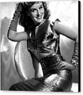 Paulette Goddard, Paramount Pictures Canvas Print