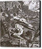 Siege Of Vicksburg, 1863 Canvas Print