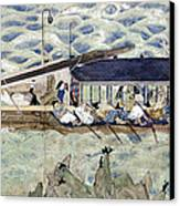 Sugawara No Michizane Canvas Print