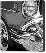 57 Chevy  Canvas Print by Steve McKinzie