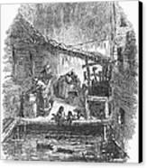 Arkansas: Hot Springs, 1878 Canvas Print