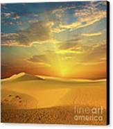 Desert Canvas Print by MotHaiBaPhoto Prints