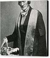 Richard Owen, English Paleontologist Canvas Print by Science Source