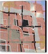 Urban Abstract San Diego Canvas Print