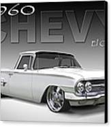 60 Chevy El Camino Canvas Print by Mike McGlothlen