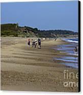 Dunwich Beach Suffolk. Canvas Print