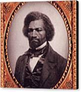 Frederick Douglass African-american Canvas Print