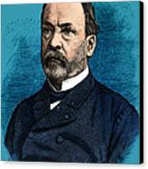 Louis Pasteur, French Chemist Canvas Print by Science Source