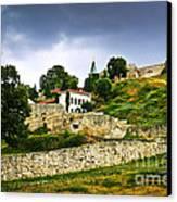 Kalemegdan Fortress In Belgrade Canvas Print