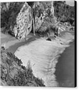 Mcway Falls - Big Sur Canvas Print by Stephen  Vecchiotti