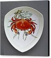 866 6 Part Of Crab Set  866  Canvas Print by Wilma Manhardt