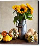Autumn Canvas Print by Nailia Schwarz