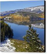 Rocky Mountain Fall Canvas Print by Mark Smith