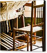 A Loom For Grandma Canvas Print by Carolyn Marshall