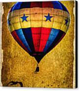 A Man And His Balloon Canvas Print by Bob Orsillo