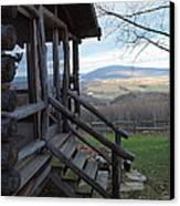A Mountain View Canvas Print