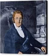 A. P. De Candolle, Swiss Botanist Canvas Print by Science Source