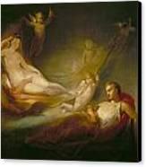 A Painter's Dream Canvas Print