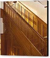 A Residential Building. An Oak Canvas Print by Will Burwell