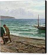 A Sea View Canvas Print by Colin Hunter