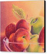A Trip To The Orchard Canvas Print by Elizabeth Dobbs