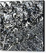 A Virus Has Spread Canvas Print by Mark Stevenson