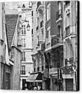 A Walk About Paris Canvas Print by Georgia Fowler