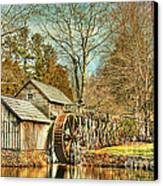 A Winters Day  Canvas Print by Darren Fisher