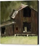 Abandoned Barn Canvas Print by Dale Stillman