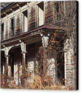 Abandoned Dilapidated Homestead Canvas Print by John Stephens