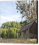 Abandoned Rustic Cabin Canvas Print by Matt Tilghman
