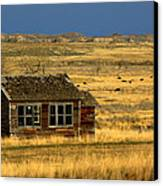 Abandoned Schoolhouse Canvas Print by Tam Graff