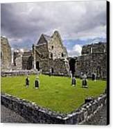 Abbeyknockmoy, Cistercian Abbey Of Canvas Print