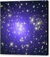 Abell 1689 Galaxy Cluster, X-ray Image Canvas Print by Nasacxcstscimite-h Peng Et Al