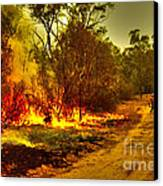 Ablaze Canvas Print by Joanne Kocwin