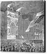 Abolition Of Slavery, 1864 Canvas Print
