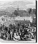 Abolition Of Slavery Canvas Print by Photo Researchers