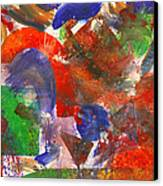 Abstract - Acrylic - Synthesis Canvas Print by Mike Savad