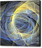 Abstract Art - Delightful Mood Of Abstracted Mind Canvas Print