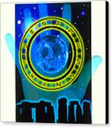 Abstract Artwork Of Fortune Telling Canvas Print by Victor Habbick Visions