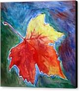 Abstract Autumn Canvas Print by Shakhenabat Kasana