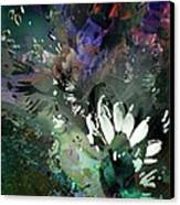 Abstract Dreamscape Number 2 Canvas Print by Doris Wood