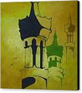 Abstract Islam Canvas Print by Salwa  Najm